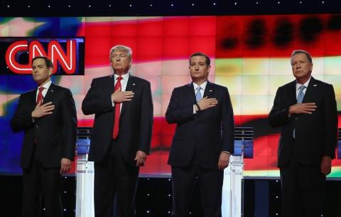 EE.UU.: Republicanos bajan el tono en crucial debate en Florida