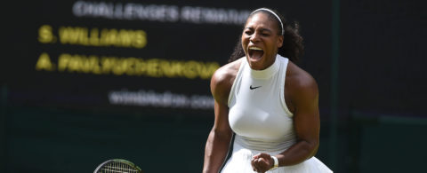 Serena Williams qualifies to Wimbledon semifinals for 10th time