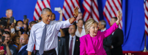 Obama praises Clinton as best-prepared candidate in history