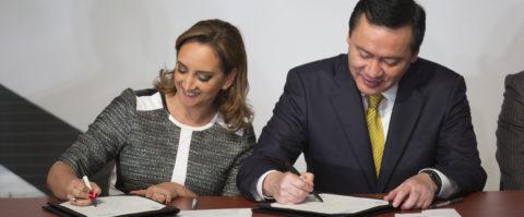 Ministros mexicanos firman pacto para ayudar a migrantes a su regreso al país
