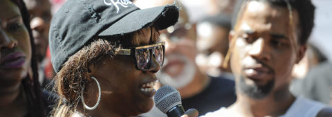 U.S. gov't called upon to probe deadly police shooting of young black man