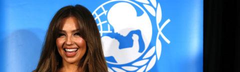 Unicef designa a Thalia embajadora de Buena Voluntad para México