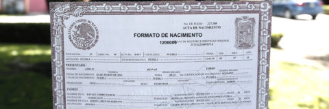 Madre mexicana consigue por primera vez que su hija lleve su apellido primero