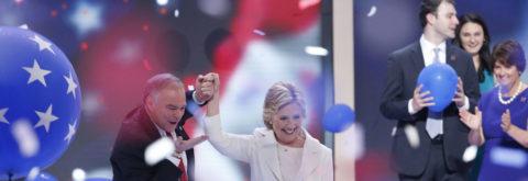 Clinton abraza la nominación demócrata abanderando la fuerza de la inclusión