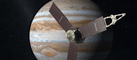 Tras 5 años de viaje, la sonda Juno entra en órbita de Júpiter
