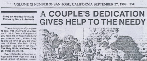 A couple's dedication gives help to the needy