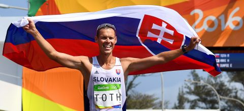 World No. 1 beats defending Olympic champion in 50km race walk