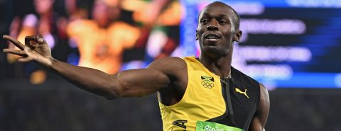 Bolt's lighting strikes thrice as he takes home his ninth gold medal