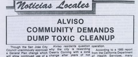 Alviso Community demands Dump Toxic Cleanup