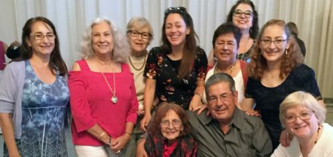 Celebración del cumpleaños de Eddy Loayza