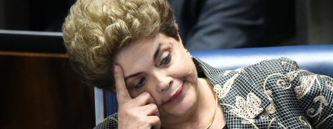 """Brazil's Rousseff blasts """"parliamentary coup"""""""