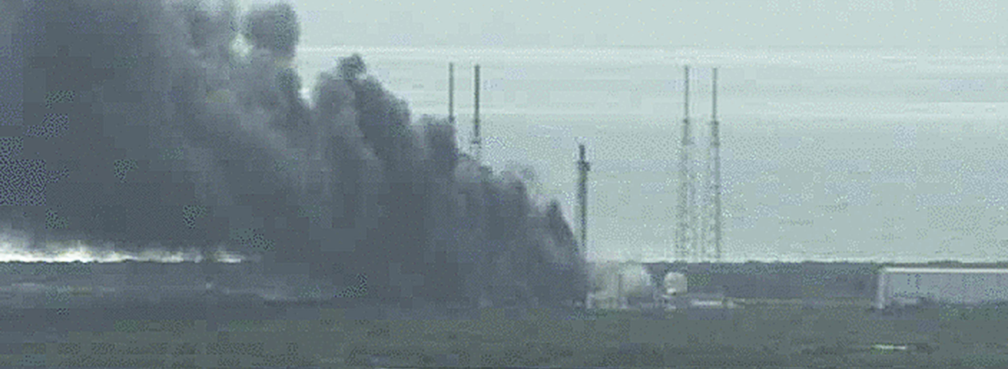 SpaceX rocket explodes on launch pad at Cape Canaveral