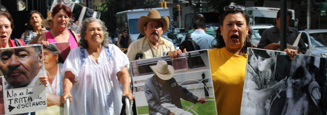 Parte a México caravana Holocausto Bracero para recordar a esos trabajadores