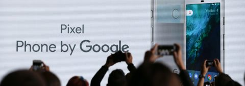 Pixel smartphone leads Google charge into hardware