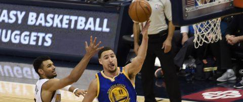 133-120.Thompson y Curry, con 30 puntos cada uno, dan nuevo triunfo a Warrior