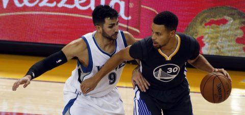 115-102. Warriors vence a Timberwolves y brilla como siempre a pesar de la ausencia de Green