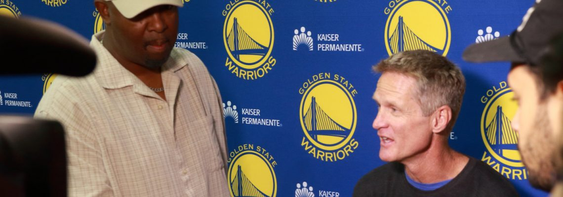 Warriors Practice – Media Conference with Steve Kerr