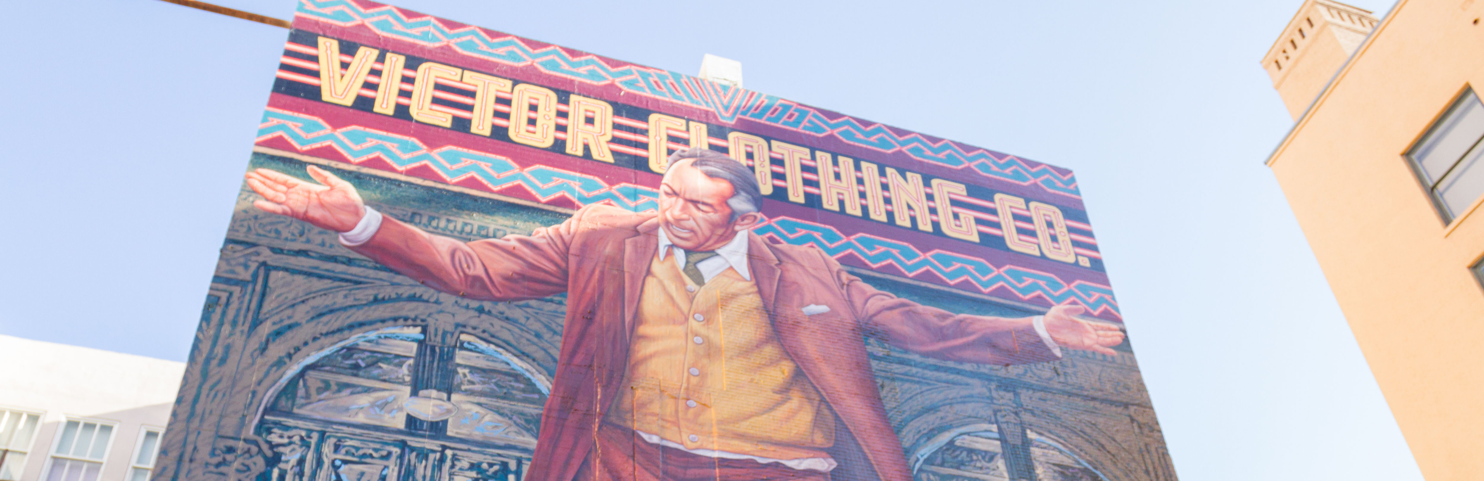 Restored mural of anthony quinn unveiled in los angeles for Anthony quinn mural