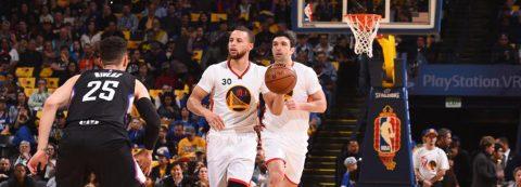 144-98. Curry dirige el ataque de los líderes Warriors