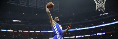 120-133. Curry y Durant lideran a Warriors en otra exhibición encestadora