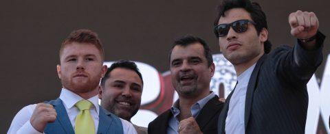 'Canelo' Álvarez y Chávez dicen que su pelea es un buen negocio para ambos