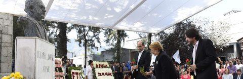 Chilean president honors labor leader slain during dictatorship