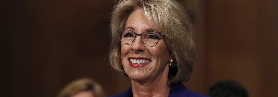 Senate approves Trump's education nominee with VP's tiebreaking vote