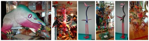 "The Mexican Museum Loans Famous ""Alebrijes"" to the New Cholula Regional Museum in Puebla, Mexico"