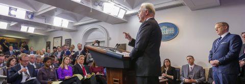 Trump backs GOP plan against Obamacare despite skepticism in Congress
