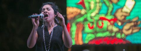 """Cantar en maya nos hace """"sentir pueblo"""", dice la cantante Yazmín Novelo"""