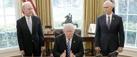 US lawmakers cancel vote on Trump healthcare plan