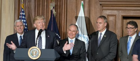 Trump signs order to start unraveling Obama's climate legacy