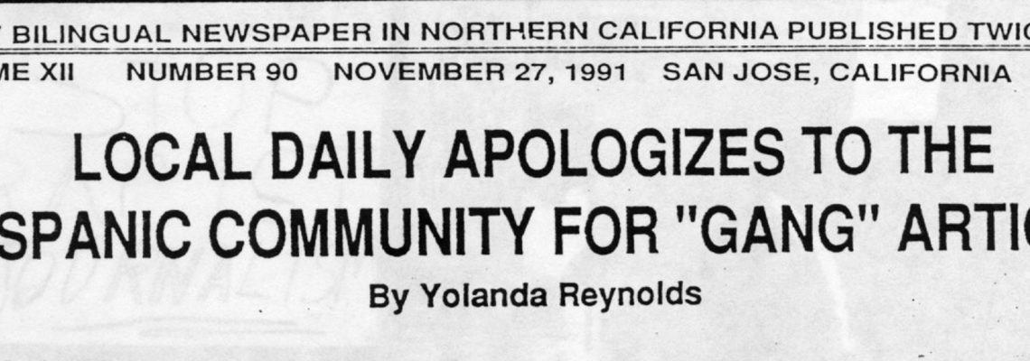 """LOCAL DAILY APOLOGIZES TO THE HISPANIC COMMUNITY FOR """"GANG"""" ARTICLE"""