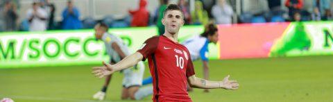 Estados Unidos revive con goleada 6-0 contra Honduras y se acerca a Rusia-2018