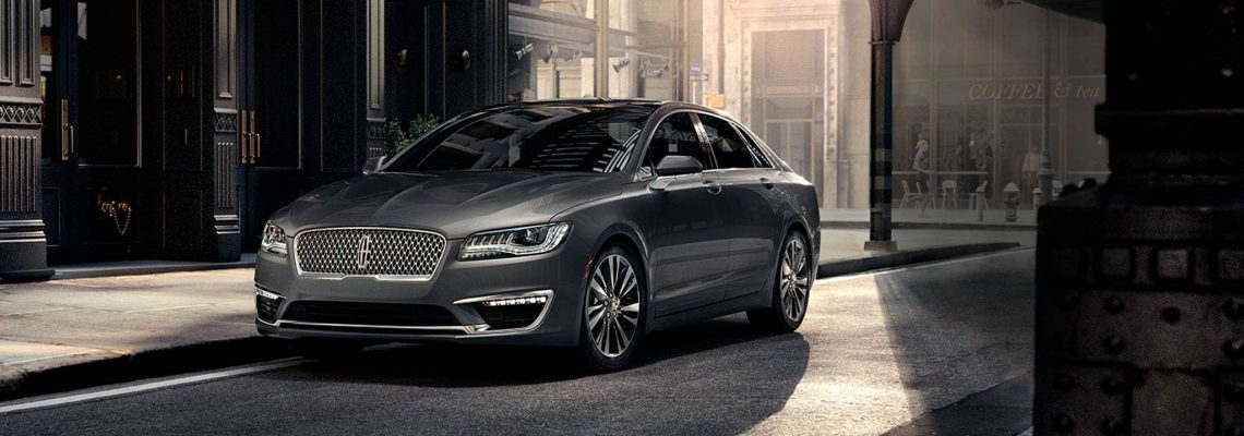 The new 2017 Lincoln MKZ HEV