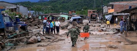 State of calamity declared in Colombian city after 154 killed in mudslides