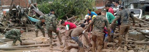 Colombian president says avalanche death toll now at least 193