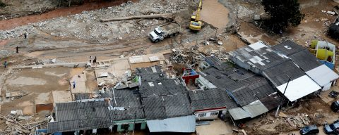 Death toll of Colombia floods, mudslides rises to 286