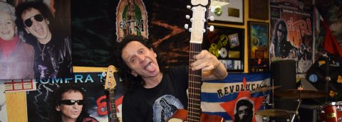 Alex Lora marks 48 years as Mexico's rock'n'roll idol