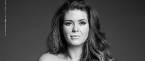 Former beauty queen Alicia Machado bares all for PETA's campaign against fur