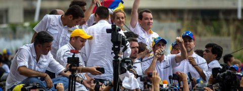 Venezuelan police allow opposition protest march to go ahead