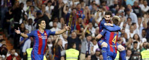 2-3. Messi reina en el Bernabéu e incendia la Liga