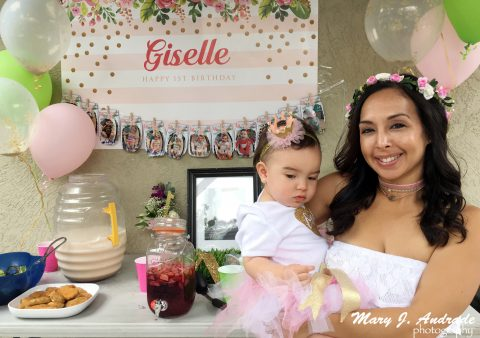 First Birthday Celebration of Baby Giselle Amor Guerrero with Family and Friends