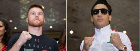 """""""Canelo"""" Álvarez y Chávez Jr. tiran de """"patriotismo"""" para vender su duelo"""