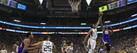 95-121. Curry y los Warriors siguen invictos y clasifican a las finales de la Conferencia Oeste de la NBA