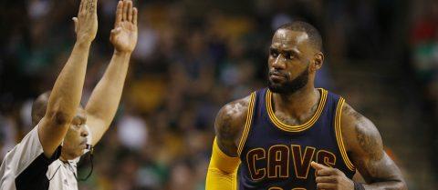 86-130. James y Cavaliers aplastan a los Celtics y siguen invictos con 13 triunfos consecutivos