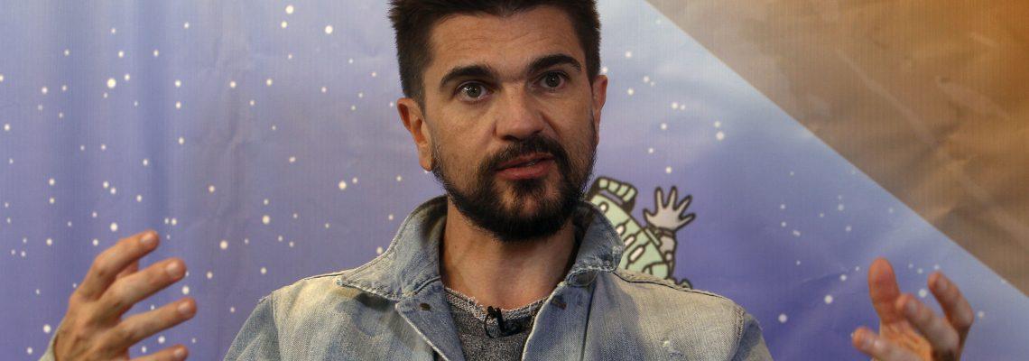 """Juanes pone """"Mis planes son amarte"""" en primer lugar del Top Latin Albums"""