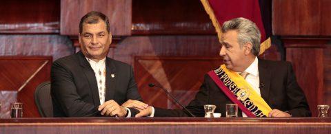 Lenin Moreno sworn in as Ecuador's president