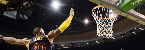 James overtakes Jordan as Cavaliers set up date with Warriors in NBA finals