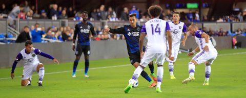 1-1. Chris Wondolowski salva a los Earthquakes con gol de empate contra Orlando City